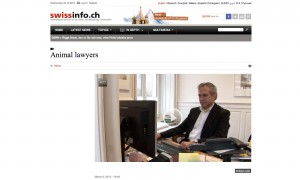 Animal lawyers - Initiative to give animals more protection